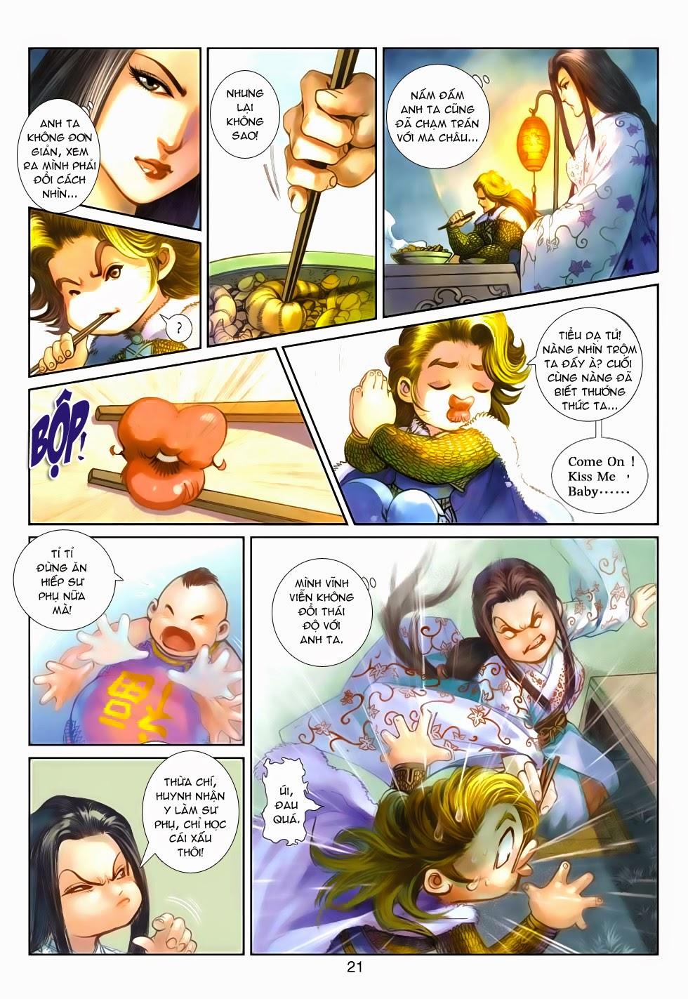 Thần Binh Tiền Truyện 4 - Huyền Thiên Tà Đế chap 5 - Trang 21