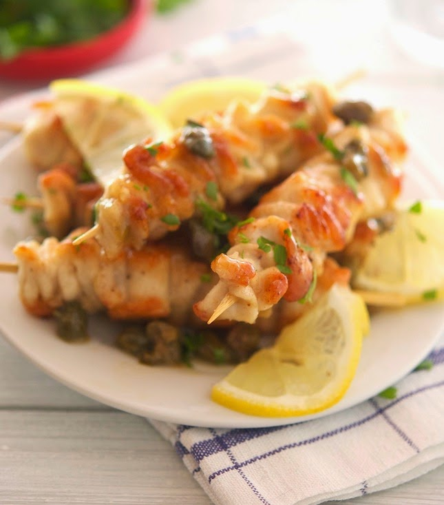 Chicken Piccata (Low Carb & Gluten-Free)