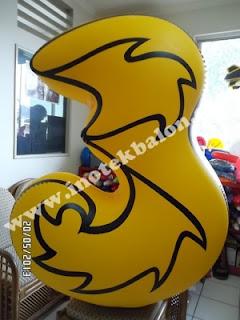 Balon Karakter Logo Tri