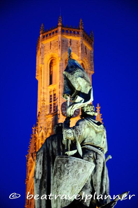 Bruges - Di sera