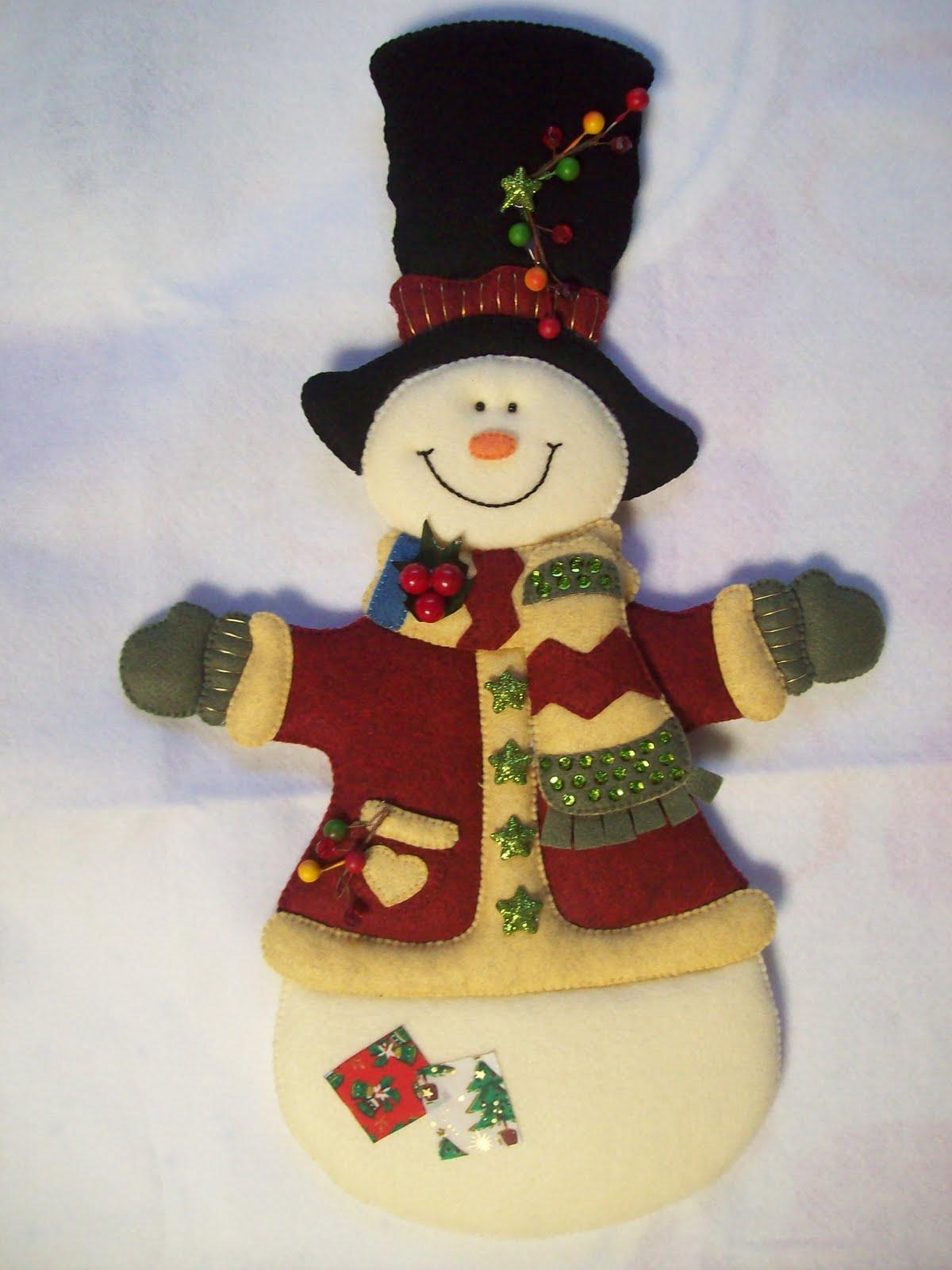 Shexeldetallitos blog de manualidades noviembre 2011 - Figuras de fieltro para navidad ...