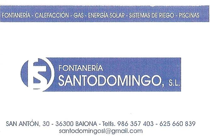 FONTANERÍA SANTODOMINGO