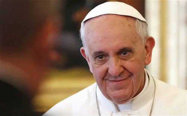 paus franciscus toespraak