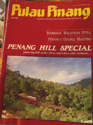 Pulau Pinang Magazine issue on Penang Hill