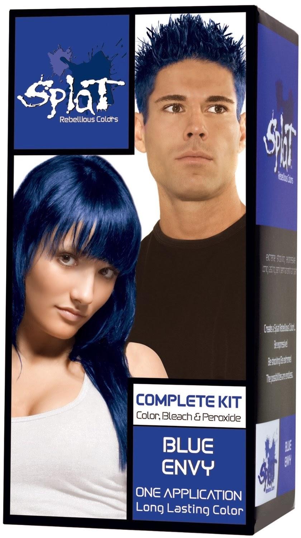 Camillesays New Hair Dying Asian Hair Blue - Hair colour in blue