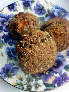 pumpkin meatballs, albóndigas de  calabaza, mozzarella, chorizo