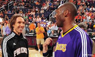 Nash and Kobe