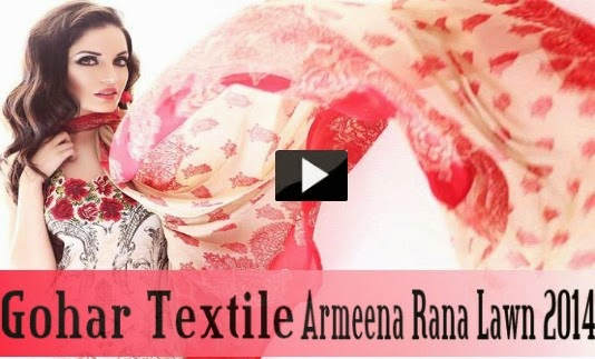 Gohar Textile Lawn 2014 TVC