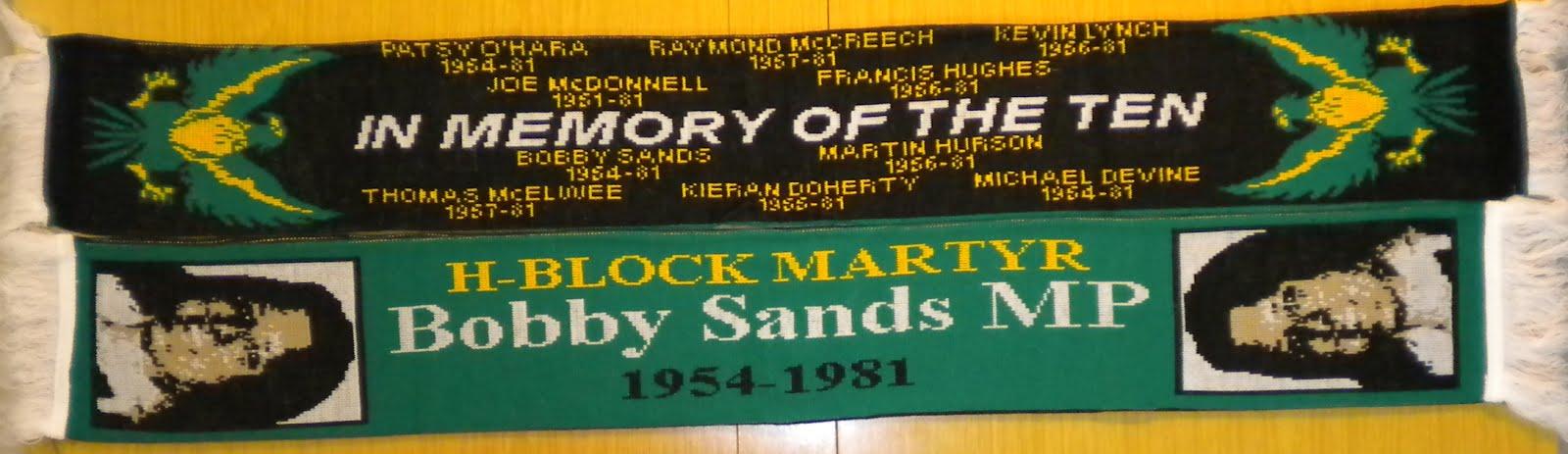 Bufanda 'Bobby Sands' y Huelguistas - 14,80€