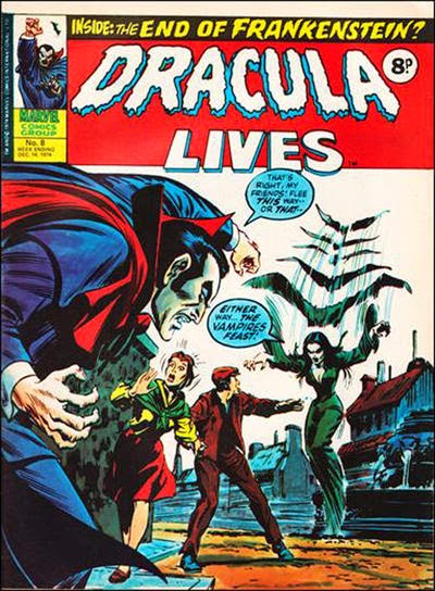 Marvel UK, Dracula Lives #8