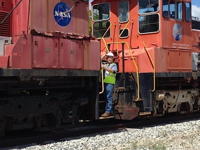 Mikey at NASA