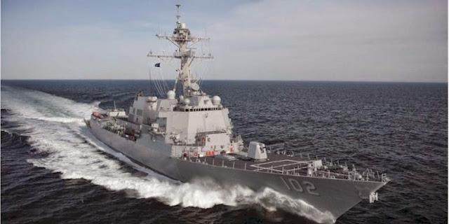 Kapal Perang AS Ikut Cari AirAsia QZ8501