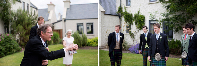 Wedding Photography Doonbeg Ireland, playing bowls