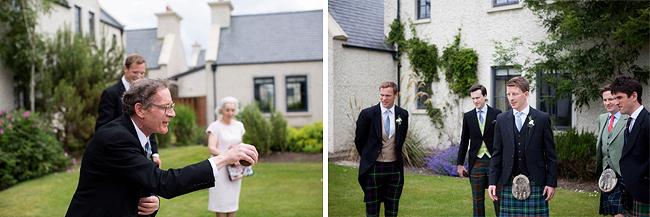 Wedding Photography Doonbeg Ireland, playing bowls