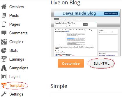 Menampilkan Thumbnail Posting di Homepage blogger