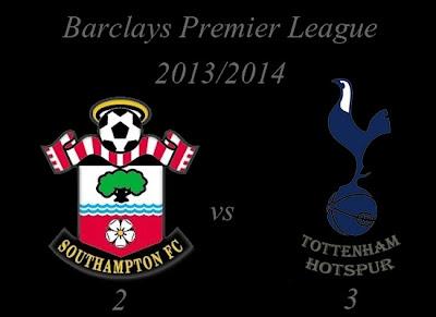 Southampton vs Tottenham Hotspur Barclays Premier League 2013