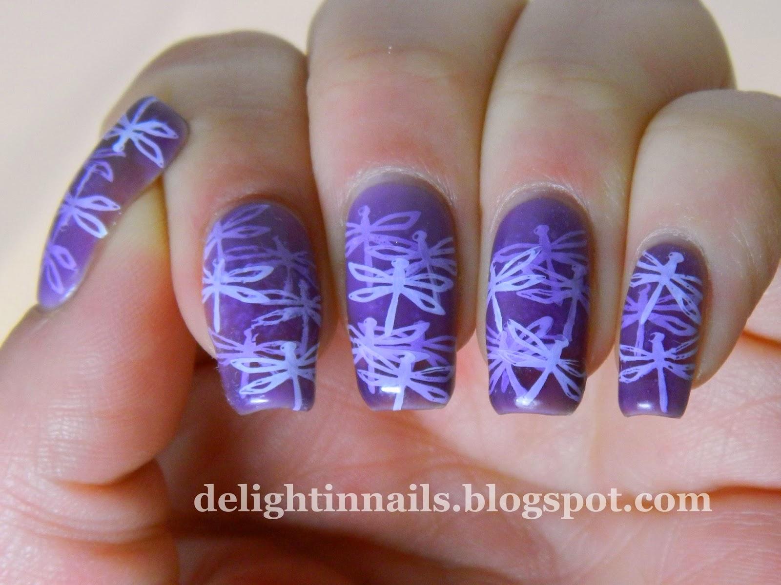 Julep Candy Pond Manicure