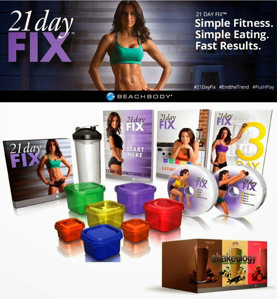 woman's 21 day fix transformation story