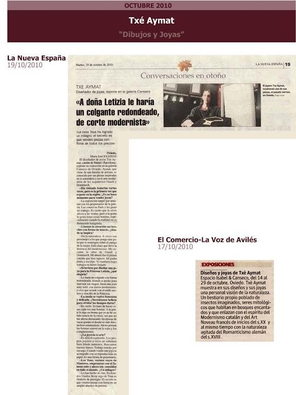 La Nueva España.Txe Aymat
