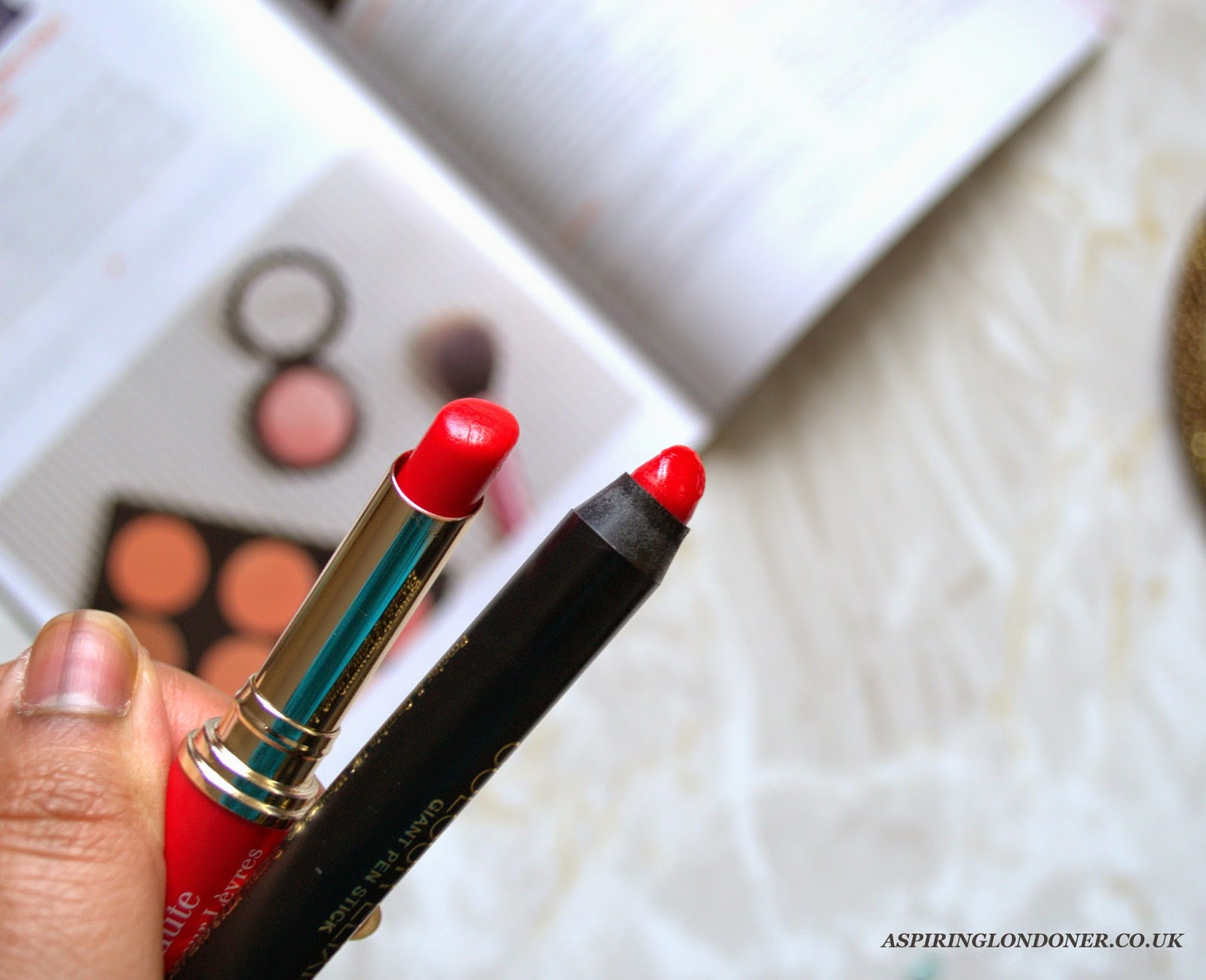 Max Factor Colour Elixir Giant Pen Stick in Designer Blossom Review Swatch - Aspiring Londoner