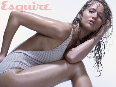 Jennifer Lawrence Is a Real Sexy LadyEsquire Jennifer Lawrence Unphotoshopped