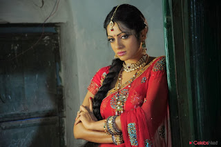 Udaya Bhani in Saree from Madhumati Movie spicy Cute Beauty