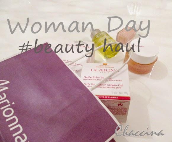 Chaccina Lifestyleblog Clarins Einkauf Woman Day