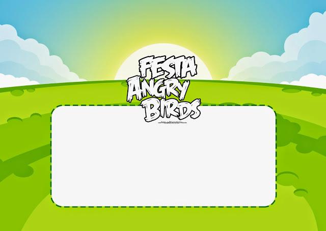 Para hacer invitaciones, tarjetas, marcos de fotos o etiquetas de Angry Birds para imprimir gratis.