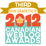 Canadian Weblog Awards Winner
