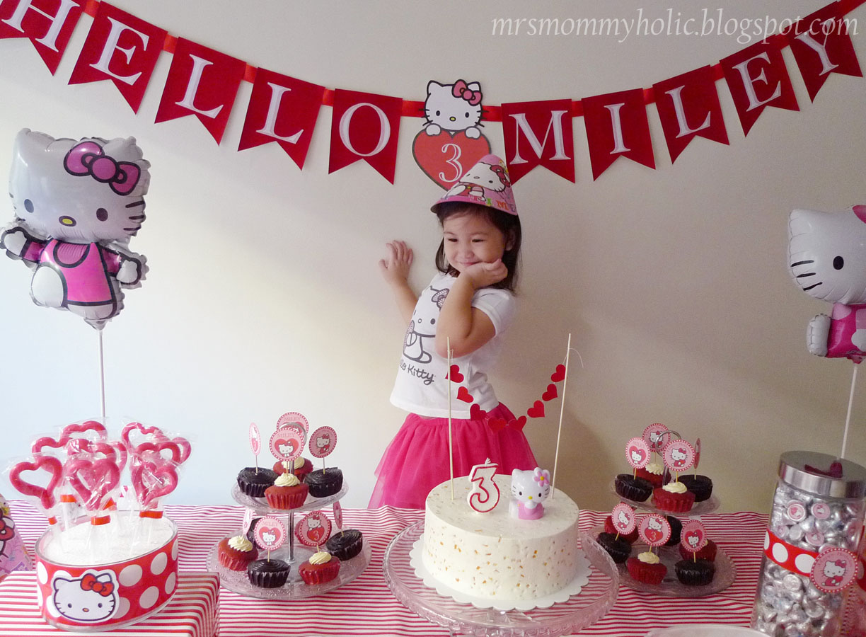 MrsMommyHolic A Hello Kitty Valentine Birthday Party