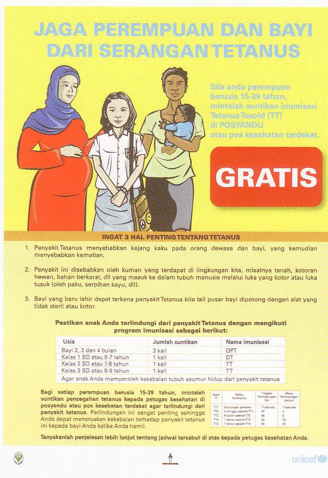riencandra: pentingnya imunisasi bagi wanita