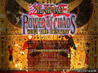 Games Yu-Gi-Oh! Power of Chaos - Yugi the Destiny