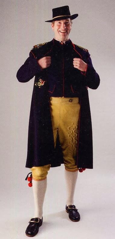FolkCostume&Embroidery: Mens costume of Leksand, Dalarna ...