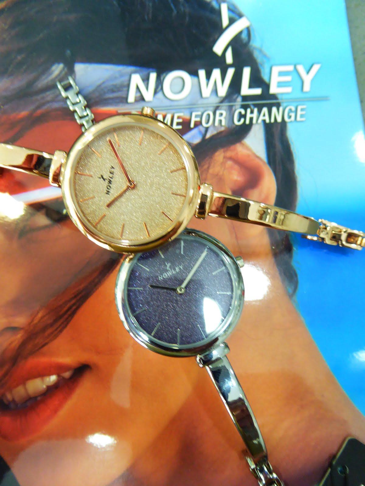 Relojes de señora acero Nowley