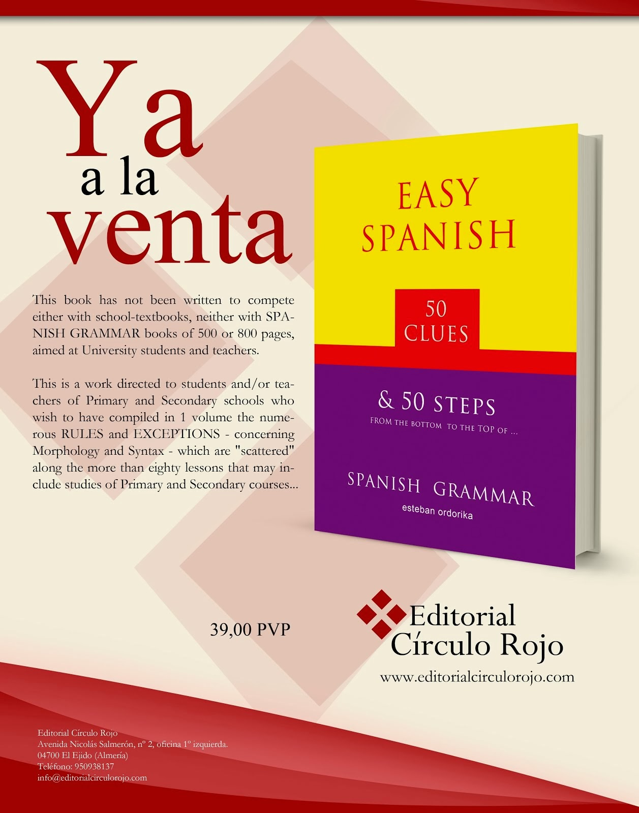 * SPANISH - 50 CLUES - Grammar * Julio 2013