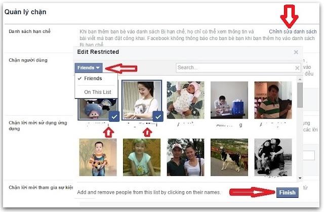 chặn ứng dụng facebook 2