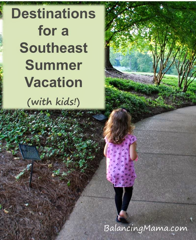 Vacation Ideas South East