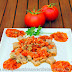 Ñoquis con salsa de tomate