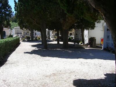 Collioure cemetery