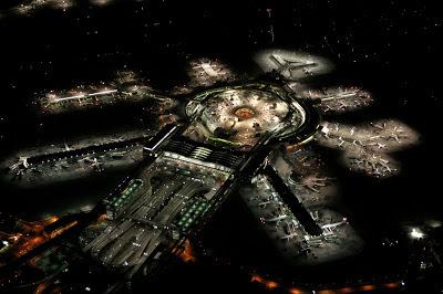 أفضل صور عام 2006، أضواء مطار سان فرانسيسكو الدولي ليلاً