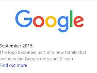 Riwayat Logo Google Dari Masa ke Masa