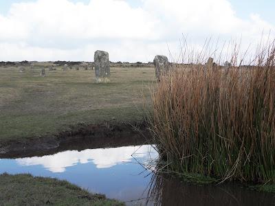 Hurlers stone circle Bodmin Moor