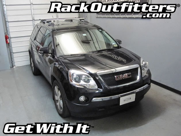 This Complete Multi Purpose Base Roof Rack Is The Perfect Fit For The 2010,  2011, 2012, 2013 And 2014* GMC Acadia SUV With Raised Rails That Run Front  To ...