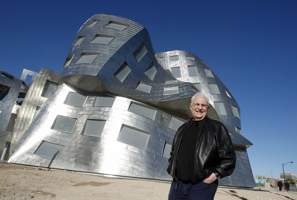 Les instants bav 39 arts frank gehry le g nie de l for L architecture