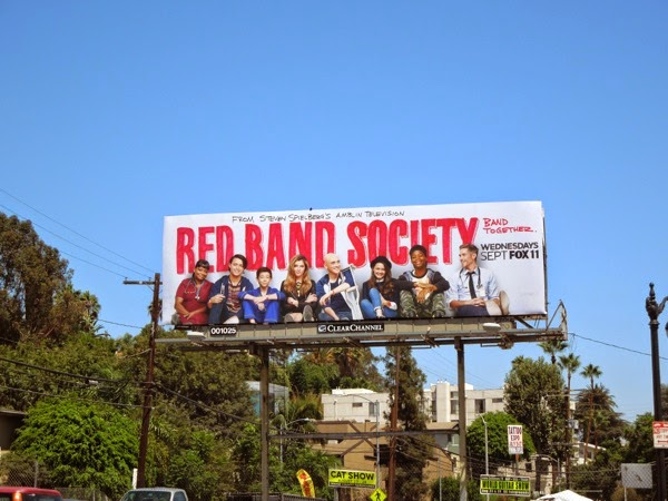 Red Band Society season 1 billboard