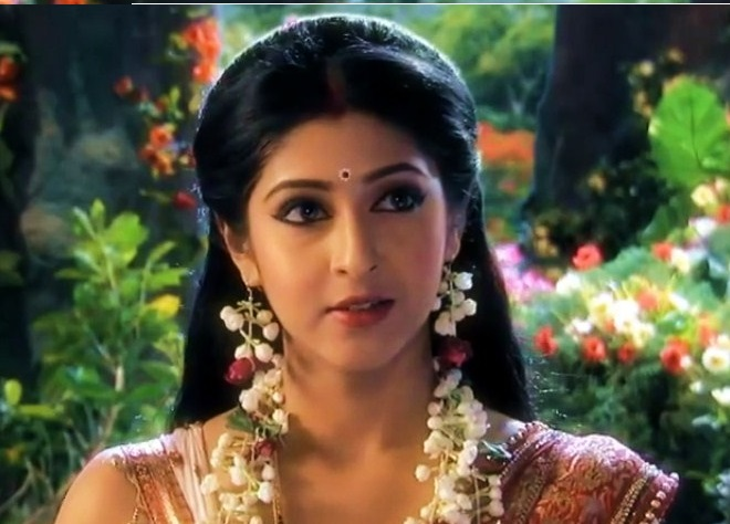 mouni roy as sathi in kailasanthan serial kailasanthan serial