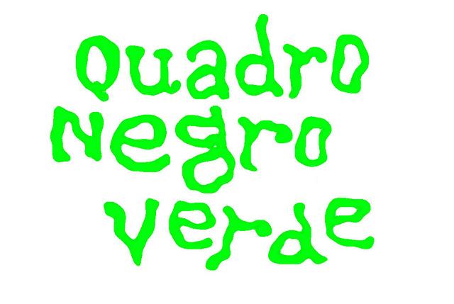 Quadro Negro Verde ( quadrinhos alternativos )