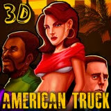3D American Truck   Juegos15.com