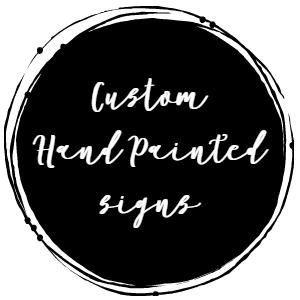 Custom Wood Signs...