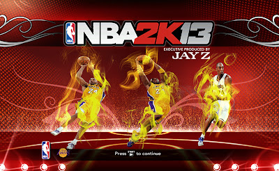 NBA 2K13 Mods Kobe Bryant Startup Screen
